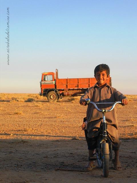 niños beduinos
