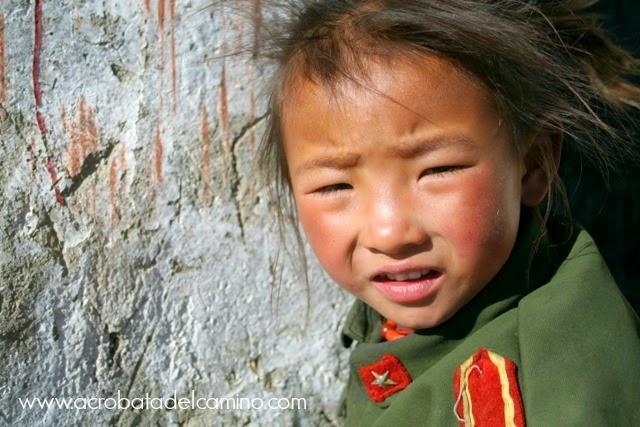 niños tibet