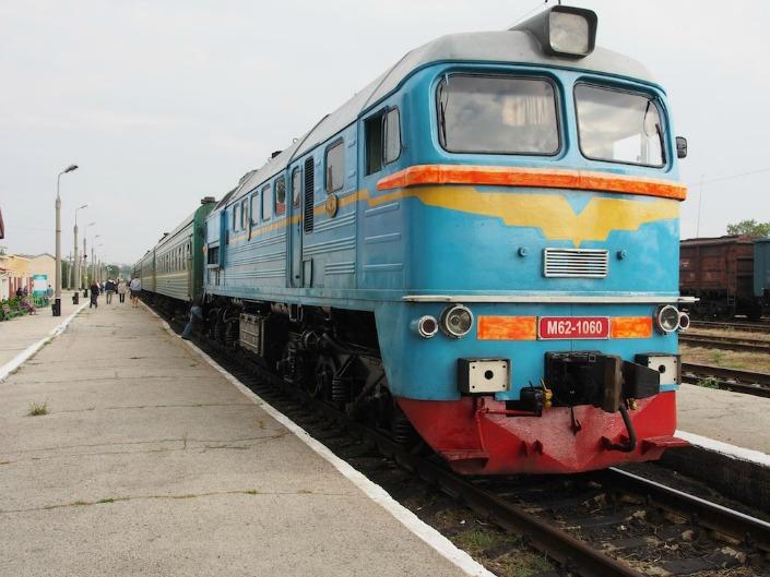 Tren que une Chisinau con Tiraspol, foto cortesía de Wikipedia .