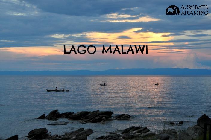 Atardecer en Nkhata Bay, en el Lago Malawu
