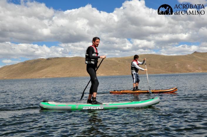 row peru en lago umayo