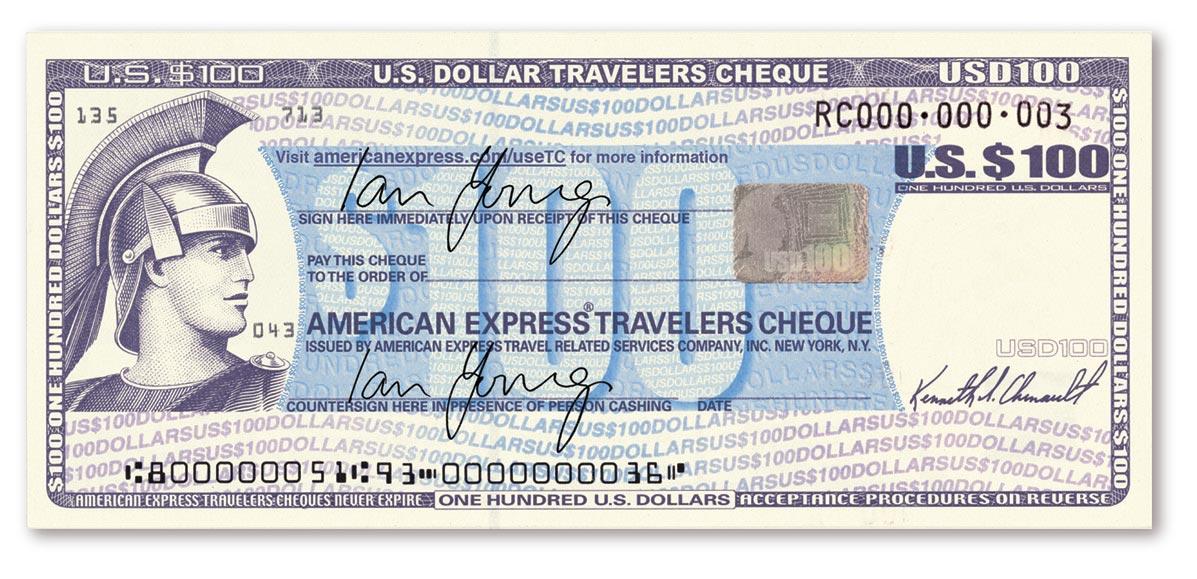 cheques de viajero american express
