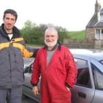 Un conductor típicamente escocés….
