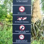 Un totem de prohibiciones en Westminster