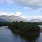 4ta semana de julio 2005. Persiguiendo a los hippies por el ártico: encuentro Ting-Rainbow en Dividalen.