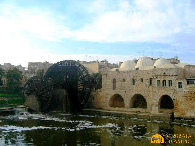 norias de Hama Siria