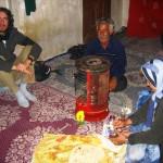 UNA HUMILDE VIVIENDA EN KHAFR, IRÁN