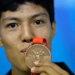 Primera medalla olímpica en la historia afgana.