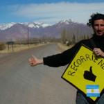 Recorriendo Argentina a dedo: la Ruta Nacional 149: de Uspallata a Calingasta.