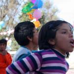Día del niño en Tres Esquinas, San Juan.