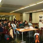 La muestra de fotos en el Centro Cultural Universitario de Tandil (13/6/09)