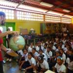 EL PROYECTO EDUCATIVO LLEGA AL CARIBE: EVENTO EN PLAYA COLORADA