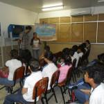 PRIMERAS ACTIVIDADES DEL PROYECTO EDUCATIVO EN BRASIL: 200 ABRAZOS