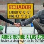 22 DE AGOSTO: BUENOS AIRES RECIBE A LOS ACRÓBATAS