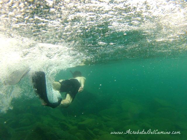 patas de rana para snorkel