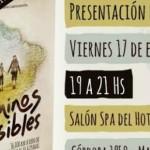"""PRESENTACIÓN DEL LIBRO """"CAMINOS INVISIBLES"""" EN MAR DEL PLATA"""