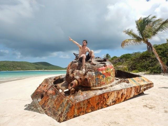 tanque abandonado isla culebra