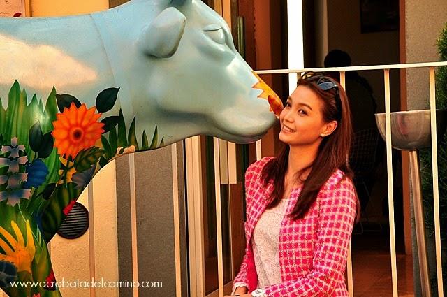 vacas de plástico