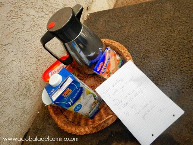 desayuno en bandeja