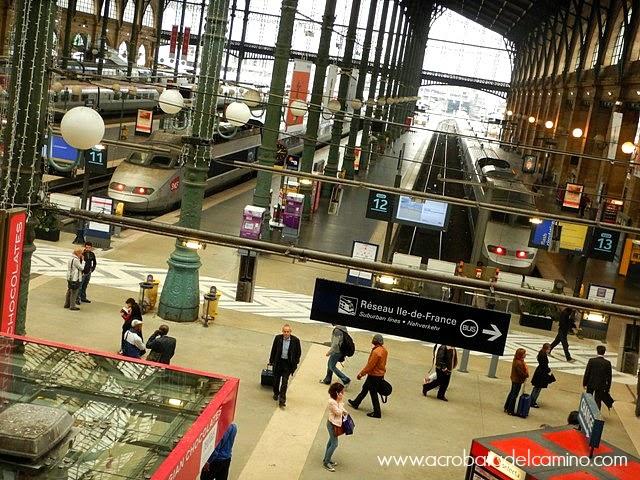 estacion de trenes de paris