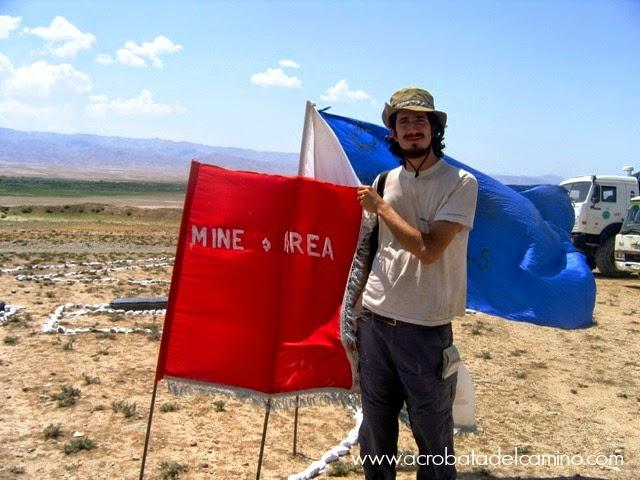 campos minados en afganistan
