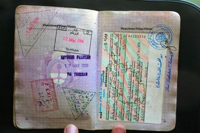 visa de afganistan