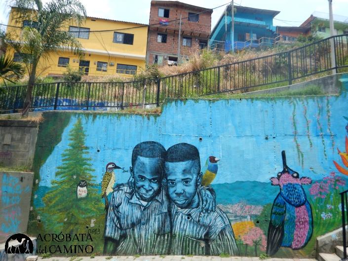 grafiti niños
