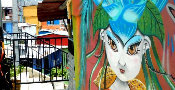 grafitis en medelllín
