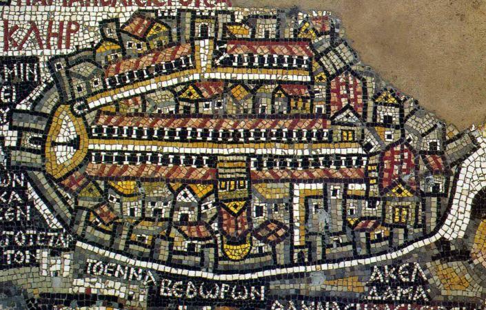 mosaicos de madaba