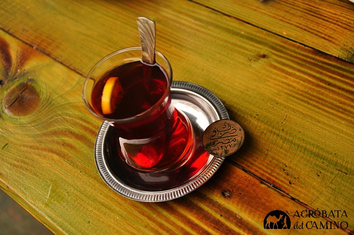 taza de té turco