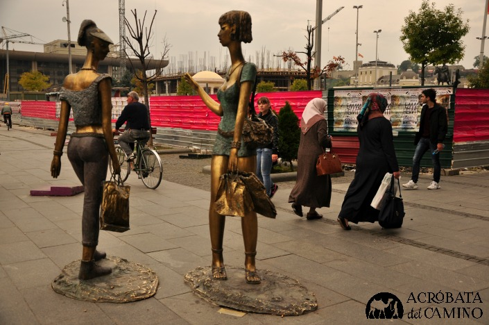 estatuas de skopje