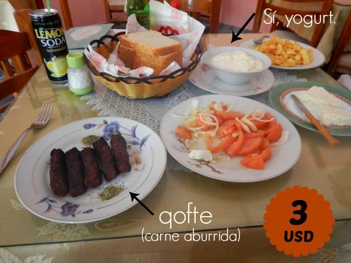 comida tipica de Albania