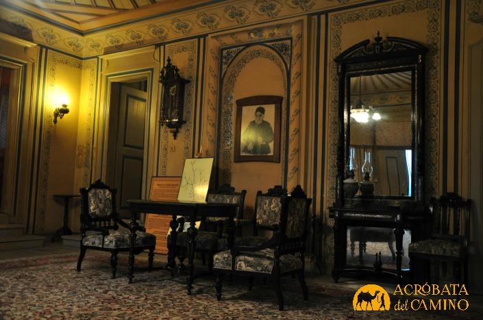 Interior de la Casa Hindlyian. Para transportarse...