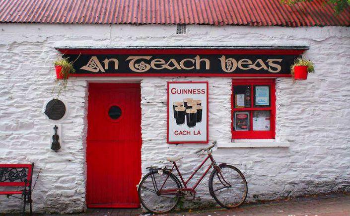 pub tradicional irlandes