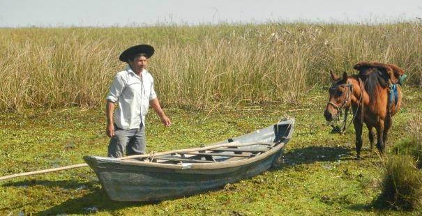 canoa cinchada