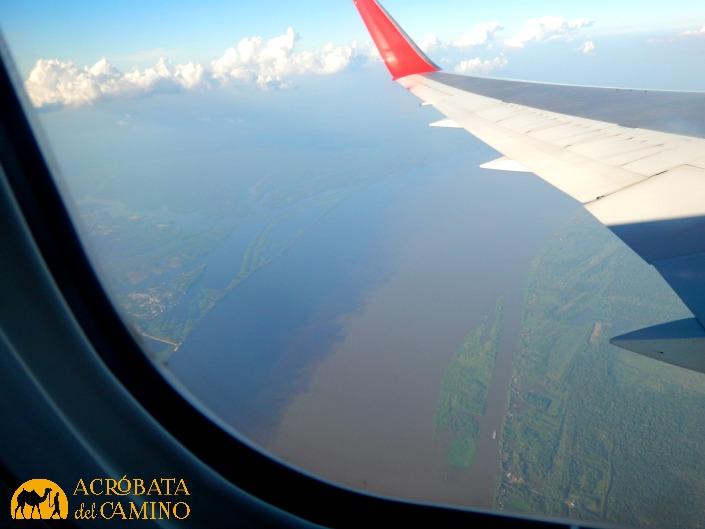 foto aerea del amazonas