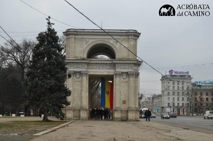 arco del triunfo chisinau