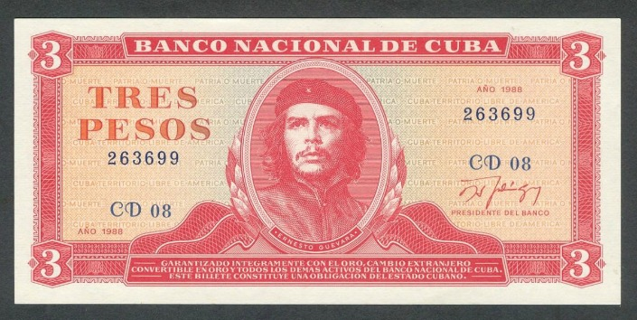 billete che guevara