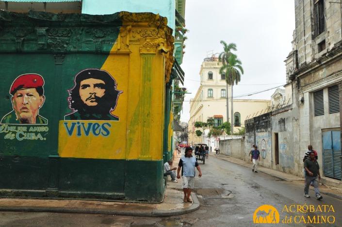 mural chavez en cuba