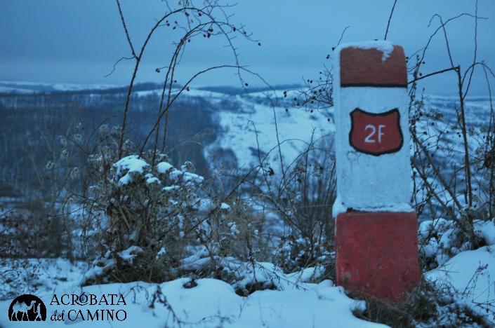 ruta en invierno