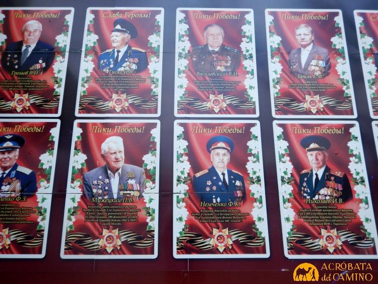 Homenaje a veteranos de la II Guerra Mundial.