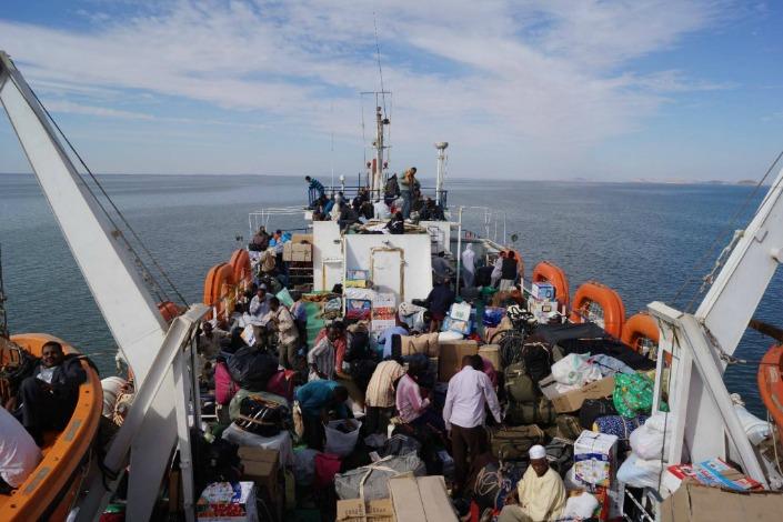 ferry a sudan