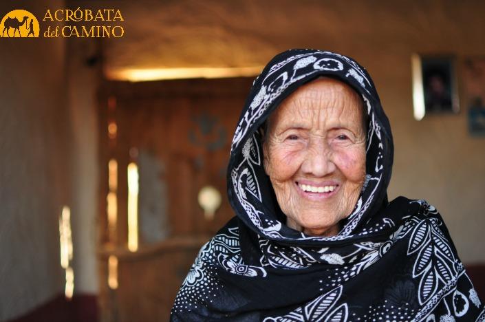La abuela de Figri. Edad insondable.