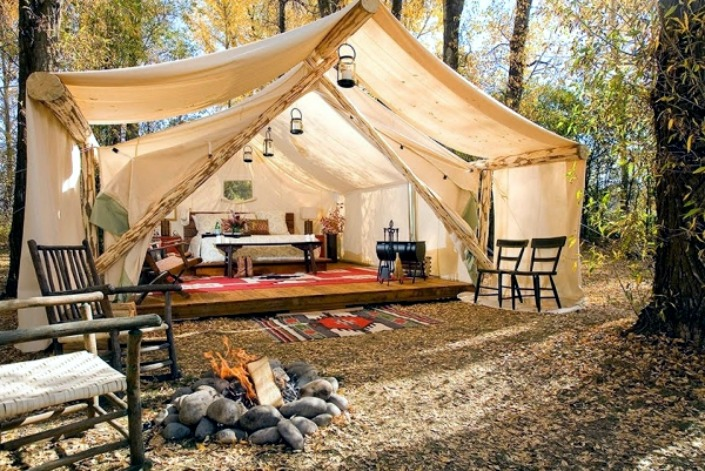 safari glamping