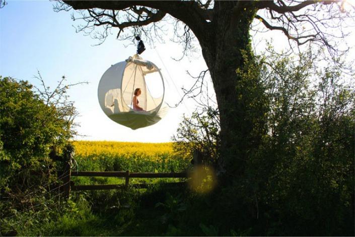 Si no te gusta subirte a los árboles podés colgarte de ellos...