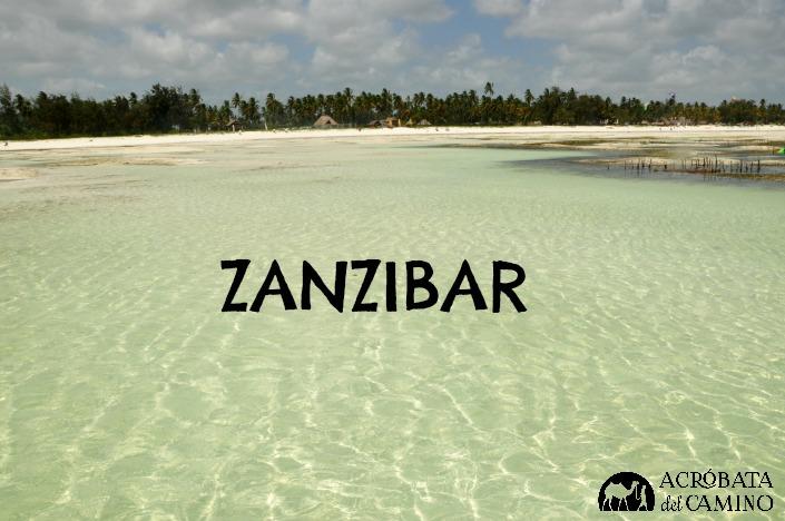 Aguas cristalinas en la Playa de Paje en Zanzibar