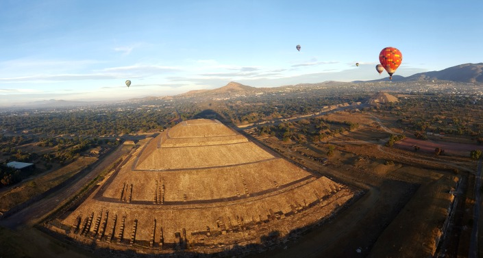 globos teotihuacan