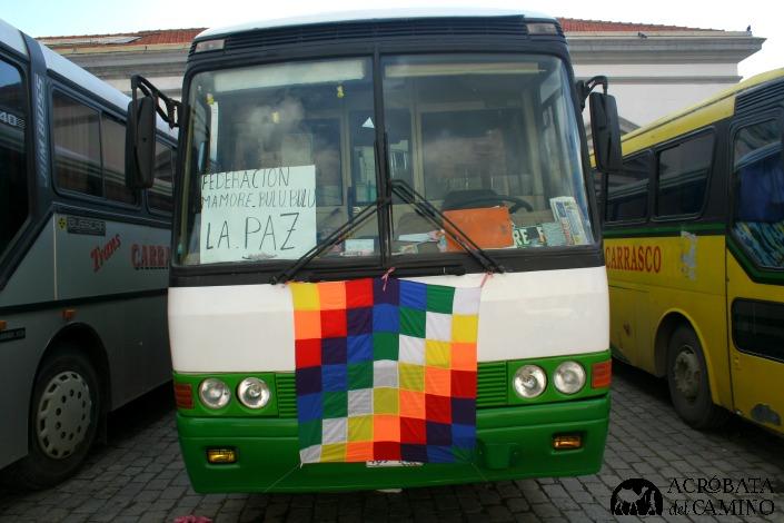viajar por Bolivia en bus