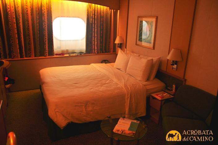 interior de la cabina del Monarch of the Seas