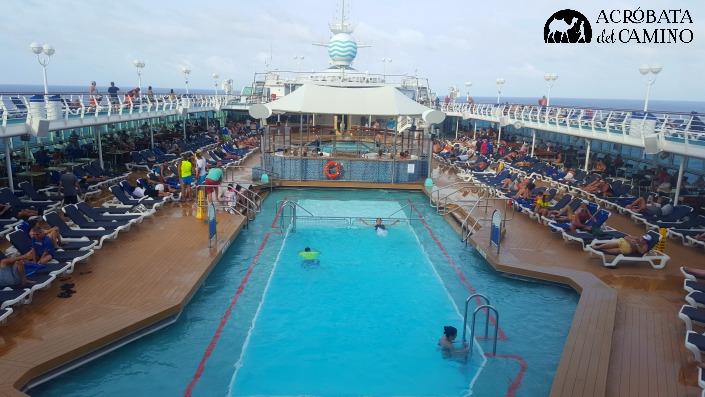 piscina del crucero monarch
